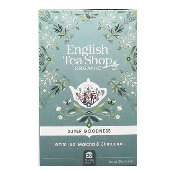 English Tea Shop fehér tea matchával és fahéjjal