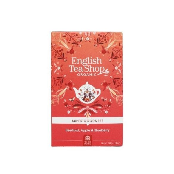 English Tea Shop cékla, alma, áfonya bio tea