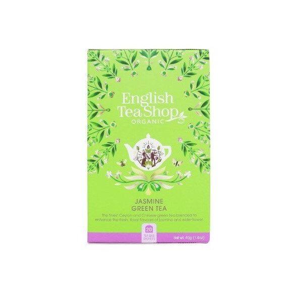 English Tea Shop jázminos zöld tea
