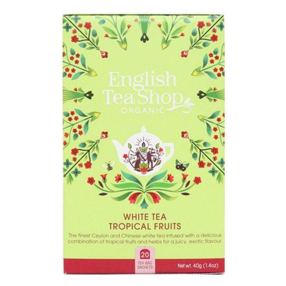 English Tea Shop fehér tea trópusi gyümölcsökkel