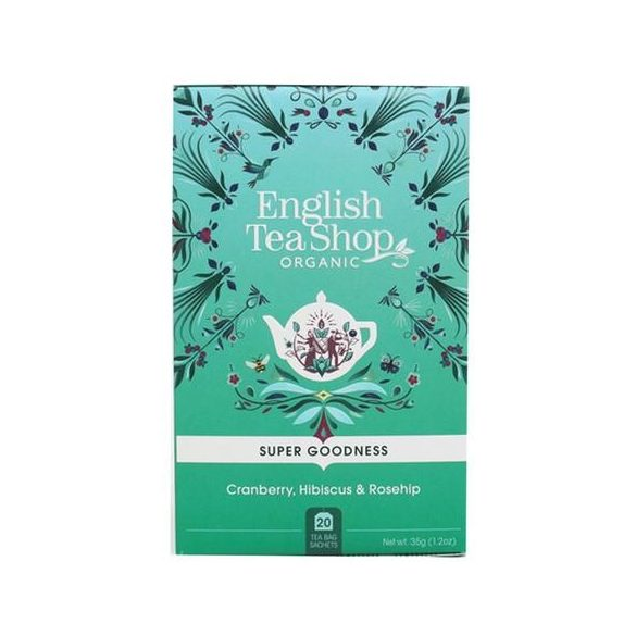 English Tea Shop bio áfonya tea hibiszkusszal