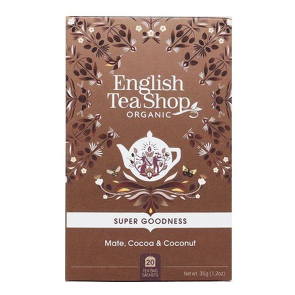 English Tea Shop mate bio tea kakaóval és kókusszal