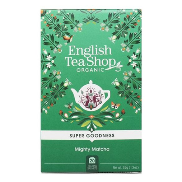 English Tea Shop szuper matcha bio tea