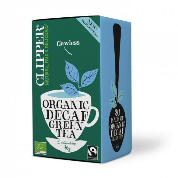 Clipper bio koffeinmentes zöld tea