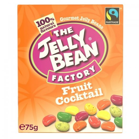 Jelly Bean gyümölcskoktél cukorkák 75g