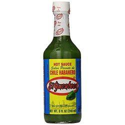 El Yucateco zöld habanero chili szósz