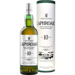 Laphroaig single malt skót whiskey