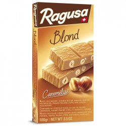 Ragusa Blond fehér csokoládé egész mogyorószemekkel