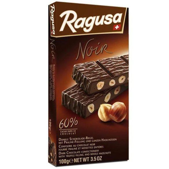 Ragusa Noir pralinés étcsoki egész mogyorószemekkel