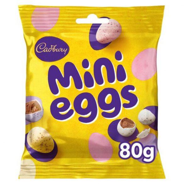 Cadbury tejcsokoládé tojás mini tojásokkal
