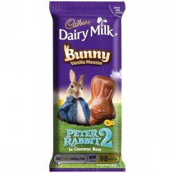 Cadbury tejcsokoládé nyuszi vaníliás töltelékkel