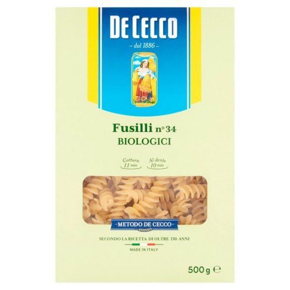 De Cecco bio fussili tészta