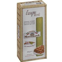 Montegrappa spenótos lasagne tészta