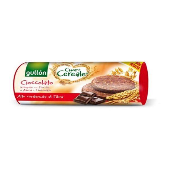 Gullón gabonakeksz csokoládé darabkákkal