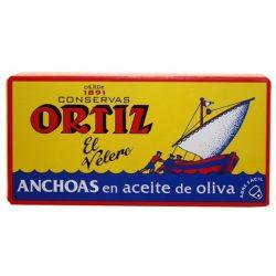 Ortiz szardella olívaolajban