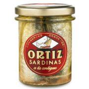 Ortiz szardínia olívaolajban
