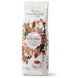 Simón Coll forró csokoládé por