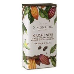 Simón Coll kakaóbab étcsokoládéban