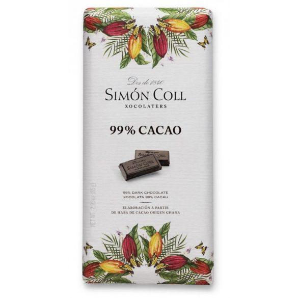 Simón Coll 99%-os étcsokoládé