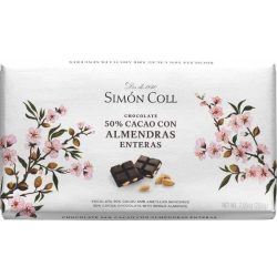 Simón Coll mandulás étcsokoládé