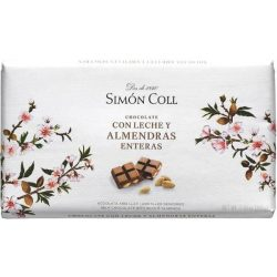 Simón Coll mandulás tejcsokoládé