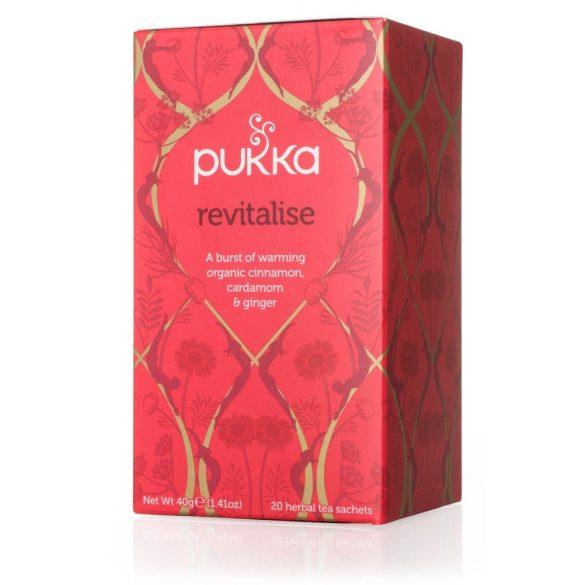 Pukka Revitalise élénkítő bio tea