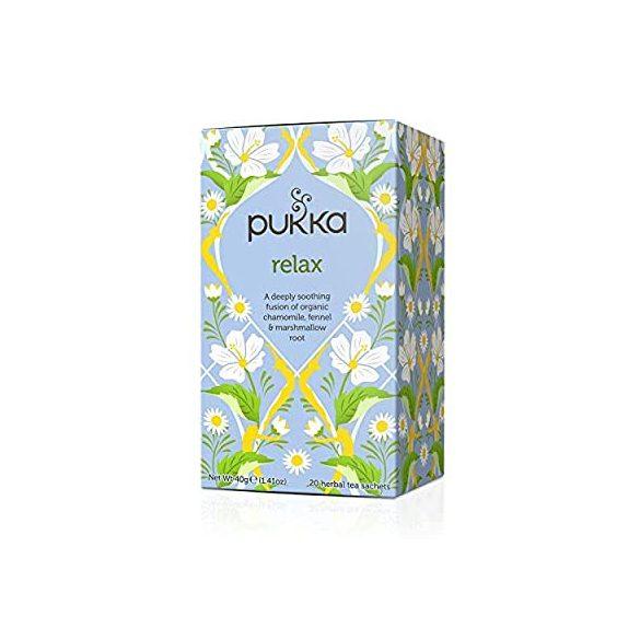 Pukka relax bio tea