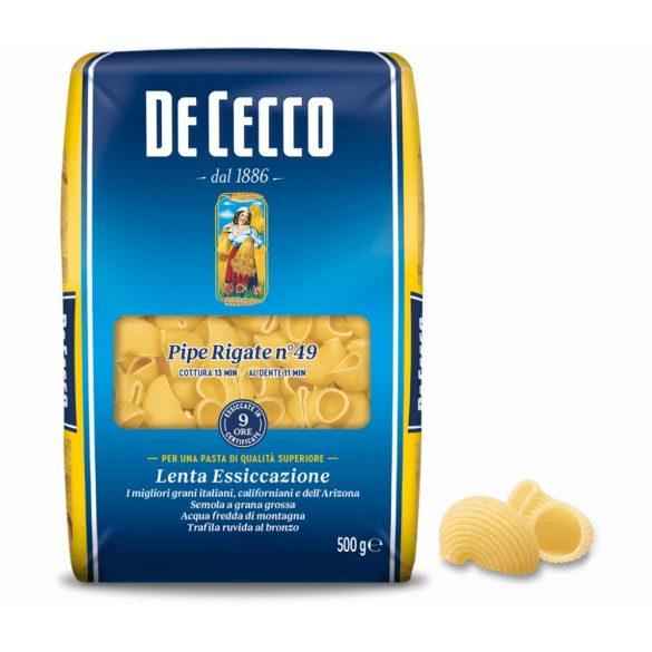 De Cecco Pipe Rigate tészta