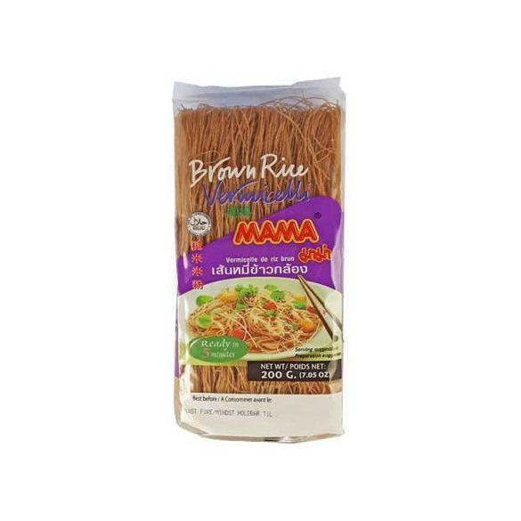 Vermicelli barna rizstészta