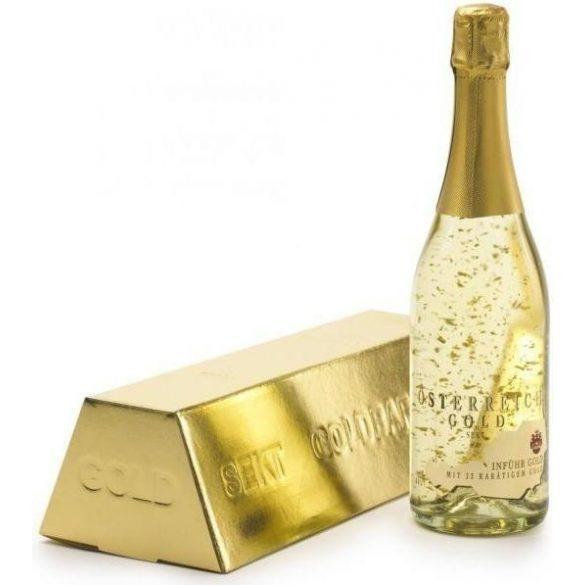 Österreich Gold aranypelyhes pezsgő
