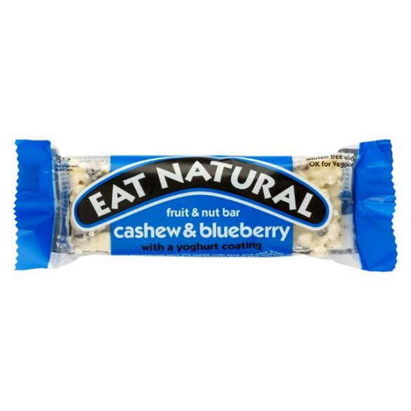 Eat Natural gluténmentes müzliszelet - kesudió, áfonya, joghurt