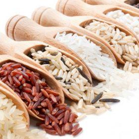 Rizsek, gabonafélék, hüvelyesek